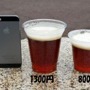 日比谷公園グルメイベントが高額過ぎる!ビールが少量なのに1300円!購入者から疑問の声