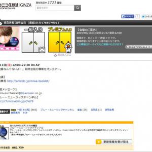 東京で震度5弱の地震のときに「地震なんてないよ!」の東森美和さんが『niconico』で説明会見