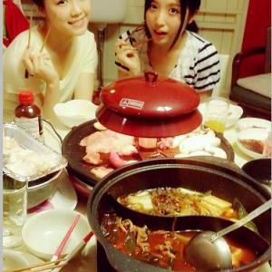 『SKE48』の石田安奈(17)が家で鍋をしているところを投稿 ビールが映るも即削除される