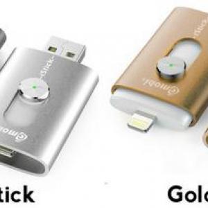 【ソルデジ】LightningとUSBをスライドで出せるフラッシュメモリ『iStick』が大人気