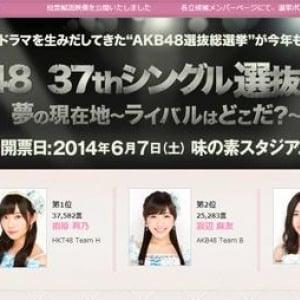 『AKB48選抜総選挙』速報結果が発表! ネットでは誰に注目が集まっていた?