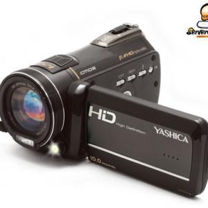 タムロン製光学12倍ズームレンズ搭載のフルHDビデオカメラ『YASHICA ADV-1228HD』