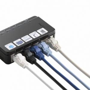 ネットワーク対応家電をまとめて接続! 家電用スイッチングハブスターターキット