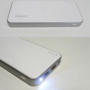 【ソルデジ】cheeroの最新モバイルバッテリー『cheero Energy Plus 12000mAh』 最薄・最軽量・大容量を実現し3000円を切る!