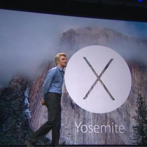 "WWDCで新""OS X""を発表! 名前は「YOSEMITE」 Macで通話も可能"