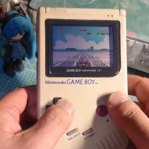 【ニコニコ】捨てられた初代『ゲームボーイ』を修理して32bitにパワーアップさせた動画が凄い