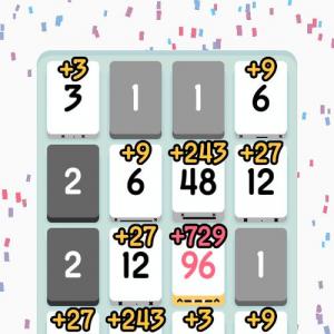 【アプリ】異常にハマってしまうパズルゲーム『Threes!』 あまりの人気に数日でパクられる