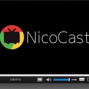 『Chromecast』でニコニコ動画をキャストできる拡張機能『Nicocast』