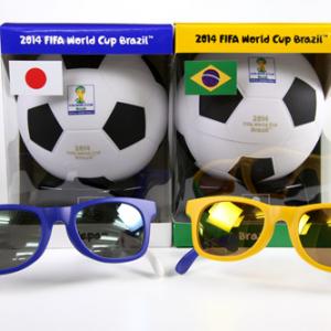 サングラスをかけて応援しよう! 『FIFA ワールドカップ オフィシャルライセンス プロダクト/サングラス』フォトレビュー