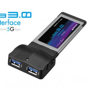 最高転送速度5Gbps! 手持ちのPCをUSB3.0対応できるExpressCardをグリーンハウスが発売へ