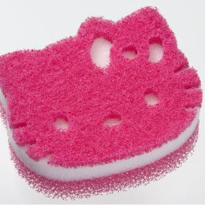 食器洗いが楽しくなっちゃう!「ダスキン台所用スポンジ抗菌タイプ ハローキティ スポンジ」期間限定販売