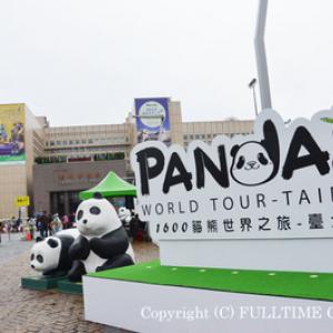 【台北 最新レポ】台北に1600匹の紙パンダが出現!