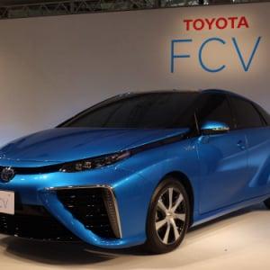 【トヨタ自動車】また新しい未来が誕生!  燃料電池で動く究極のエコカー『FCV』が年内に販売決定!