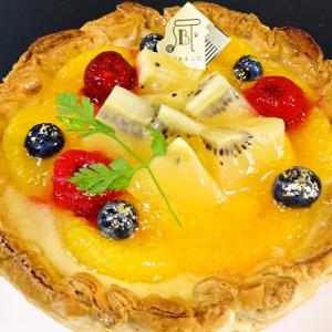 【ひと先試食】焼きたてチーズタルト専門店『PABLO』7月限定タルトはさっぱり爽やかな『ゴールドキウイとオレンジのチーズタルト』