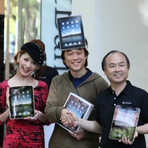 『iPad』本日発売! 表参道のセレモニーの様子をお届け