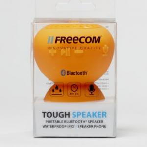 お風呂や車内での使用に最適! 防水対応で吸盤タイプのワイヤレススピーカー『Freecom Tough Speaker JP』が発売