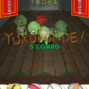 寿司を握ってゾンビを倒せ!? ゲーム『Sushi! Ninja! Zombies!』がオバカだけど熱い