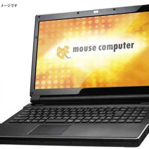 マウスコンピューターがインテルの最新CPUを搭載したノートPC『m-Bookシリーズ』5機種発売