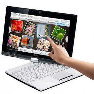 10.1型ワイドの回転式タッチスクリーンを搭載したノートPC『Eee PC T101MT』発売