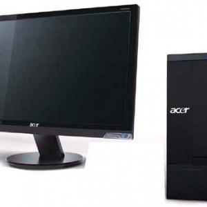 エイサーが最新CPU+OSを搭載した20インチワイド光沢液晶ディスプレー付きデスクトップPC発売へ