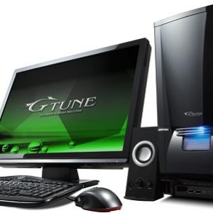 8万円台から! ゲームパソコン『G-Tune』に『NVIDIA GeForce GTX470』搭載モデル登場