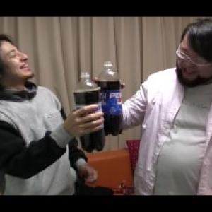 【楽しい実験】どっちのコーラが太るんだい?【新企画】