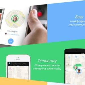 友達との待ち合わせに便利な位置情報共有アプリ「Jink」、プライバシーにも配慮
