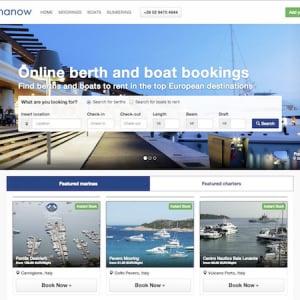 この季節にぴったり!船と船を停めるスペースを予約できるサービス「Marinanow」