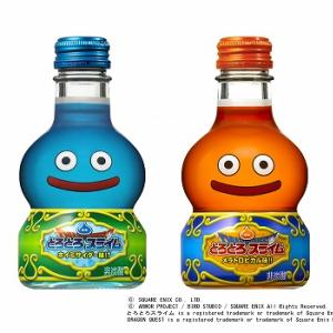 スライムをイメージした清涼飲料『ドラゴンクエスト とろとろスライム』発売へ