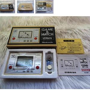 【ヤフオク】任天堂のゲーム&ウォッチ『バーミン』が13万円で落札される! しかも新品未使用品