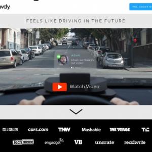 「自腹王への道」・・・近未来のスマホ連携・車載投影ディスプレイ『Navdy』 (35)