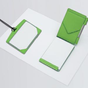 『Evernote』と連携するアナログプロダクト『保存するメモ帳』と『IDケース』発売へ