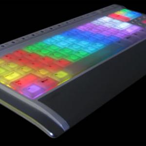好きな色に光らせて使えるプログラマブルキーボード『LUXEED U5』