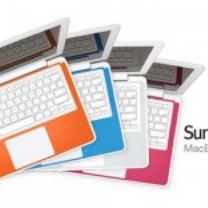 『MacBook』をカラフルにドレスアップ! キーボードデッキ用レザーパッド