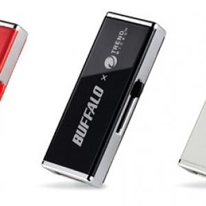 ウィルススキャン機能搭載セキュリティーUSBメモリーをバッファローが発売へ