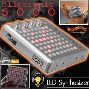 ボタンを押すだけ! 誰でも音楽を楽しめるエレクトロニック楽器『BLIPTRONIC 5000』発売
