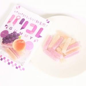 【ひと先試食】思わず「ナニコレ!?」 パリパリ食感がめっちゃ楽しいグミ『パリコレ』からグレープ&ピーチ味が登場!