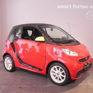 電気自動車『smart fortwo electric drive edition Disney』登場! コロっとしたフォルムにミッキーデザインがマッチして激カワ!!