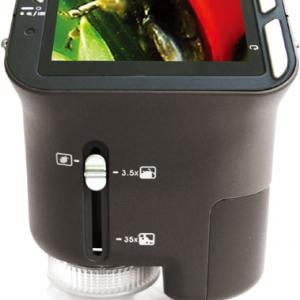 夏休みの自由研究に! 動画撮影も可能な手のひらサイズの電子顕微鏡『EXEMODE DMS-130』