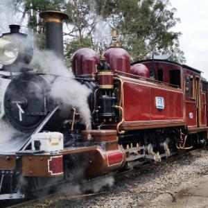 """蒸気機関車は開放的な""""箱乗り""""スタイルで! オーストラリア""""パッフィンビリー鉄道""""に乗ってきた"""