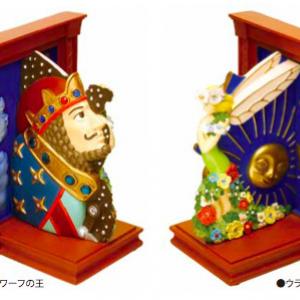 """叶わぬ夢を実現させてあげたい!  『耳をすませば』 作中の古時計""""エルフの女王とドワーフの王""""がブックエンドに[オタ女]"""