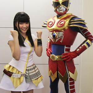 福岡のアイドルと宮城のご当地ヒーローが編集部にやって来た! 二人がオンラインゲーム『Dragon Nest(ドラゴンネスト)』で対決する理由とは?