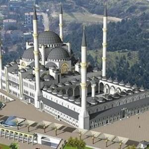 イスタンブルに77億円をかけて建設中の巨大モスク 女性にやさしい建物に