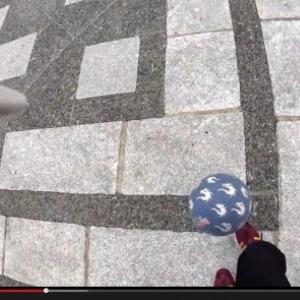 世界一のフリースタイルフットボーラーには景色がこう見える! 徳田耕太郎×アクションカム ミニのスゴ技映像