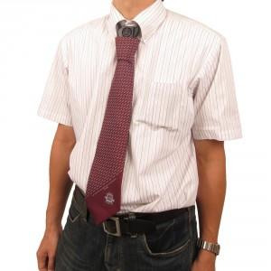 残暑アイテム!? ネクタイを締めた襟元に涼風『USBネクタイクーラー3』