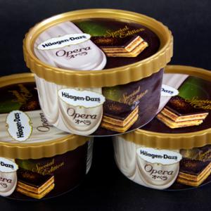 【ひと先試食】とろけるチョコレートソースと金箔! 今年もやってきた『ハーゲンダッツ オペラ』は見た目も味も豪華!