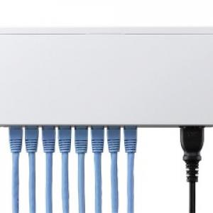 ロジテックが電気代を節約できるギガビットスイッチングハブを発売