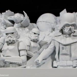 """2015年『スター・ウォーズ』祭りは""""さっぽろ雪まつり""""から! 世界初ルーカス・フィルム公認の""""大雪像""""が登場"""