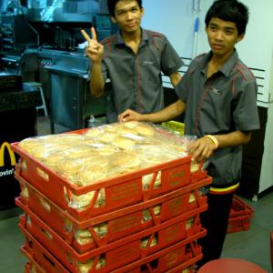 タイのマクドナルドはなんでもアリ!