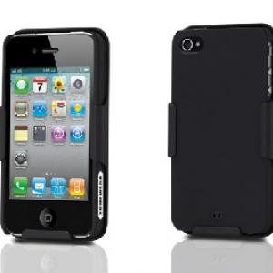 保護ケース+スタンドにも! 『iPhone 4』用クリップ付きホルスター『CLIPPINGHOLSTER』